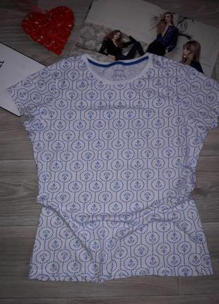 Primark легкая футболка с морским принтом uk 10 primark сток