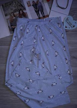 M&s отличного качества пижамные легкие штаны р 12-14 сток