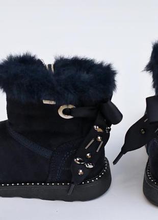 Крутые сапоги на девочку немецкого бренда tom tailor