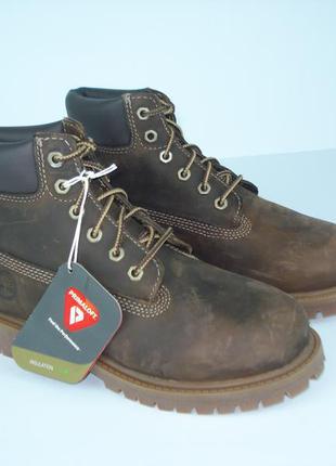 Водонепроницаемые ботинки timberland leavitt 32р