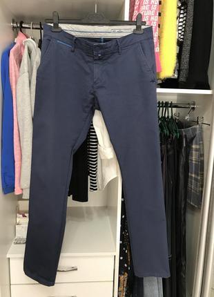 Мужские синие штаны, брюки турция