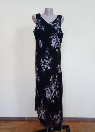 Красивое брендовое длинное платье