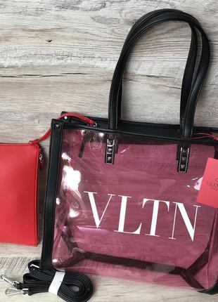 Женская крутая силиконовая сумка