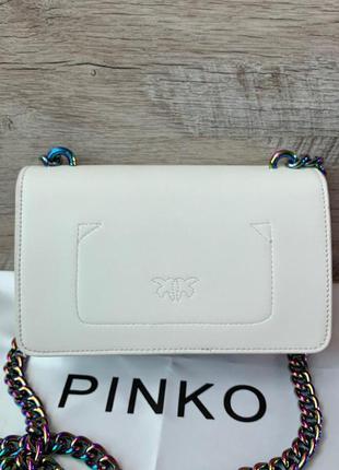 Стильная женская сумка pinko пинко кожа