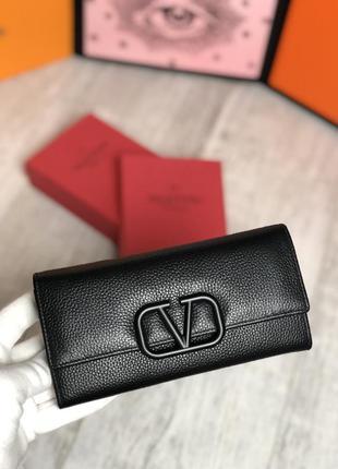 Кожаный женский стильный кошелёк