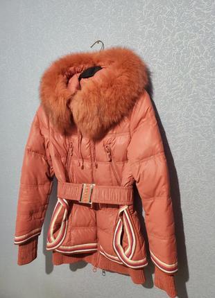 С 1 августа полная цена! теплая курточка, пуховик