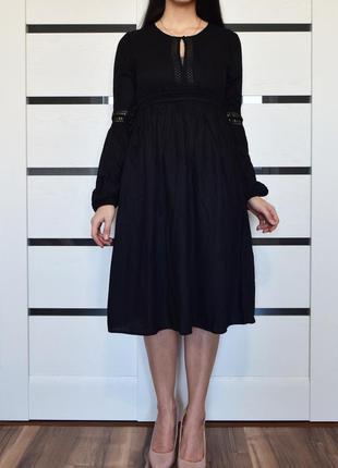 Платье с кисточками на талии h&m