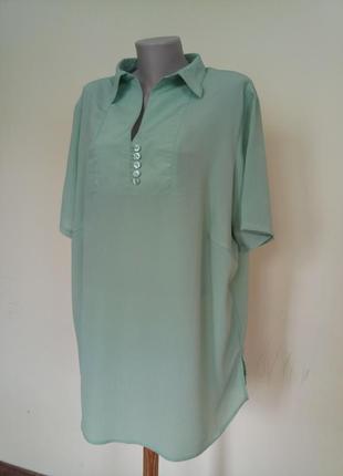 Красивая большая блузочка 62 размер