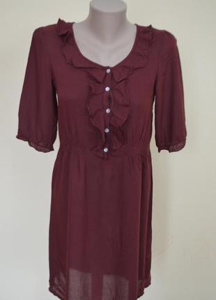 Красивое платье туника модного цвета