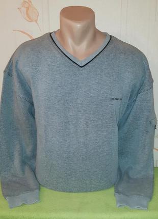 # розвантажуюсь уютный свитер/пуловер burberry london
