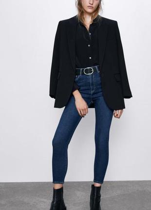 Крутые джинсы скини высокая талия