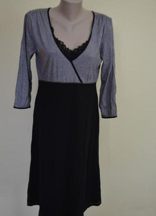 Красивое платье трикотаж длинный рукав