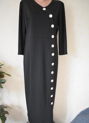 Стильное платье большого размера