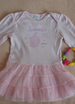Нежное платье с фатиновой юбкой disney