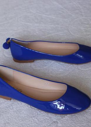 Туфли, балетки 35, 36 размера на низком ходу
