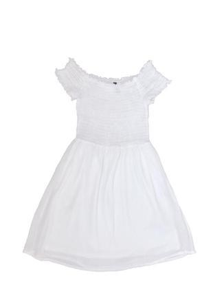 Белое платье летний сарафан
