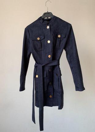 Платье или легкое пальтишко материал эко замш черная пятница!