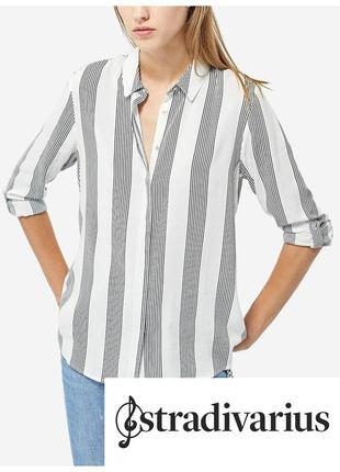 Полосатая рубашка stradivarius