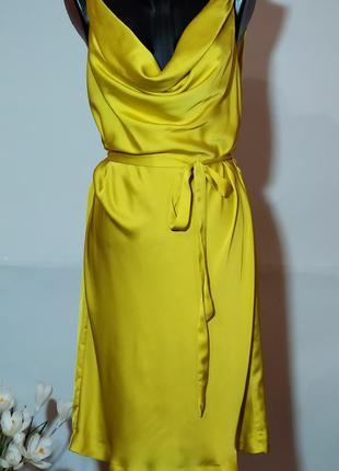 Шикарное платье миди h&m