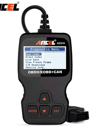 Анализатор двигателя AD310 OBD2