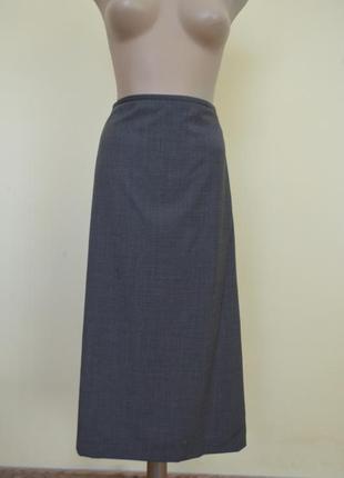 Классическая юбка шерсть большой размер