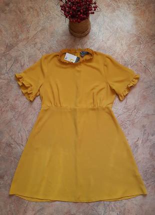 Платье сарафан  с рюшами  от primark