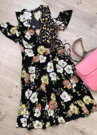 Очень красивое платье. платье весна лето. платье на запах. пла...