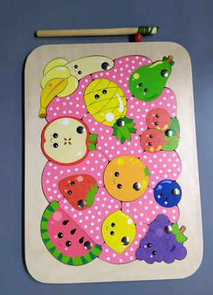 Пазл фрукти