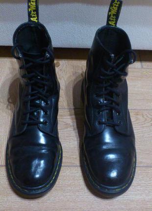Ботинки dr. martens мужские кожаные черные 1460 black черевики...