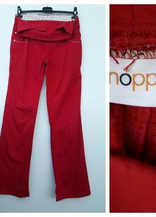Красные джинсы для беременных l xl#красные штанишки для береме...