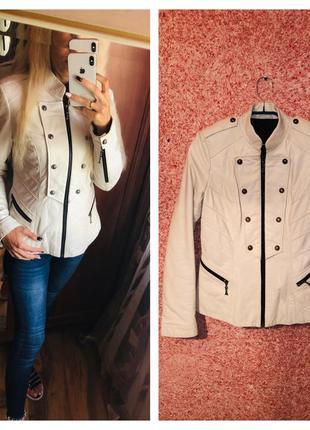 Кожаная куртка franco di marco