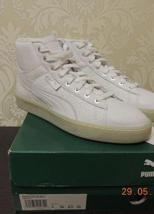 Кроссовки Puma оригинал, модель PUMA Women's Basket Mid Ali