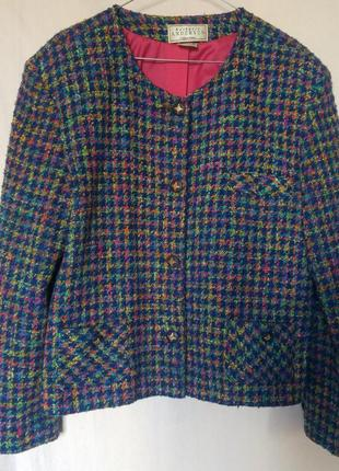 Жакет в стиле шанель пиджак букле
