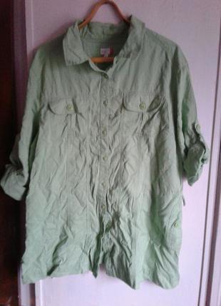 Рубашка-платье женская. 50 размер.