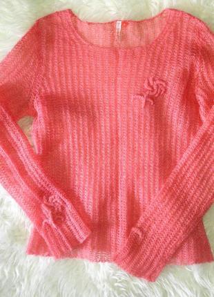 Нежный свитерок из мохера