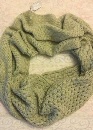 Снуд-шарф-шаль красивый новый