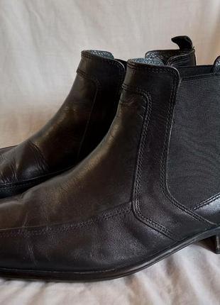 """Мужские кожаные ботинки"""" челси"""""""
