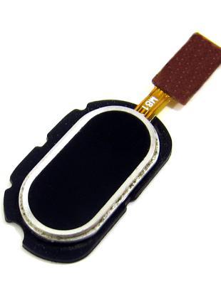 """Шлейф Meizu M2 Note (M571) с кнопкой меню """"Home"""" черного цвета"""
