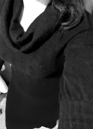 Очень теплое шерстяное платье gant