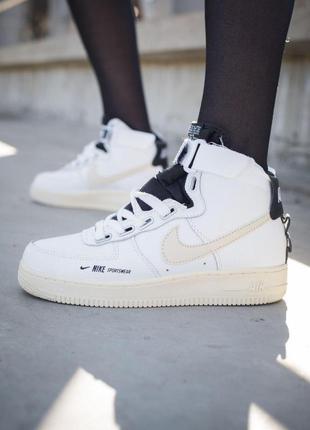 Стильные кроссовки 😍 nike air force 1 high 😍