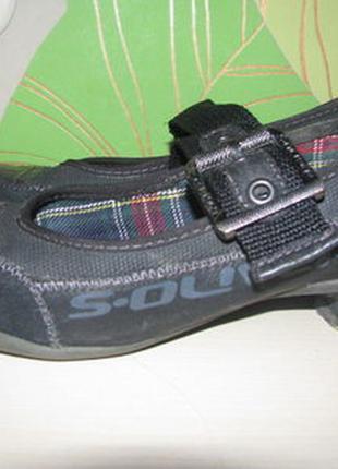 Стильные туфли s. oliver, оригинал