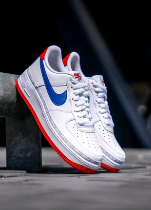 NIKE AIR FORCE 1 '07 LV8 White/Blue