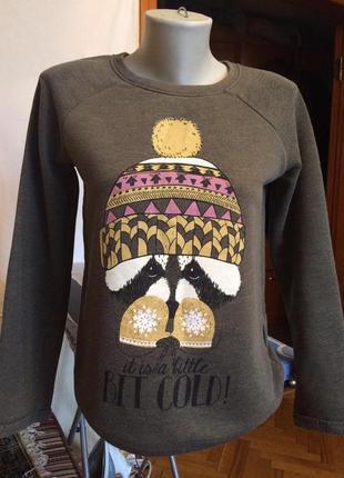Толстовка ,свитшот от бренда c&a, линия одежды clockhouse