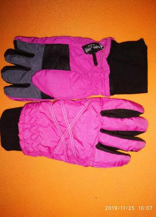 Зимние тёплые термоперчатки alive на девочку 10-12 лет