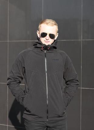 Куртка ветровка мужская soft shell