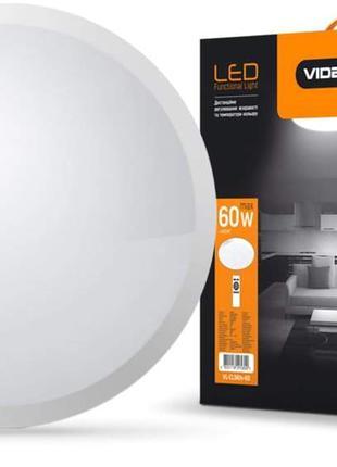 Светильник с пультом LED  VIDEX круглый 60W 2800-6000K