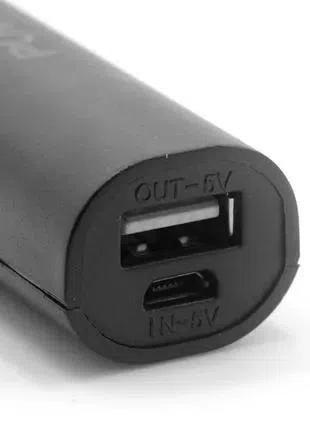 Портативное зарядное устройство Power Bank салатовый 18650
