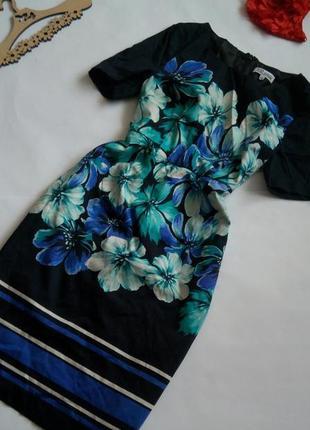 Платье миди  46 48 размер офисное нарядное футляр крутое винта...