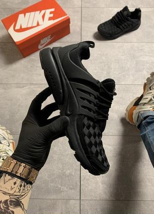 Nike air presto woven black.
