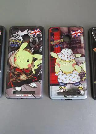 Чехол Pokemon Go для Xiaomi Redmi 3S / 3 Pro